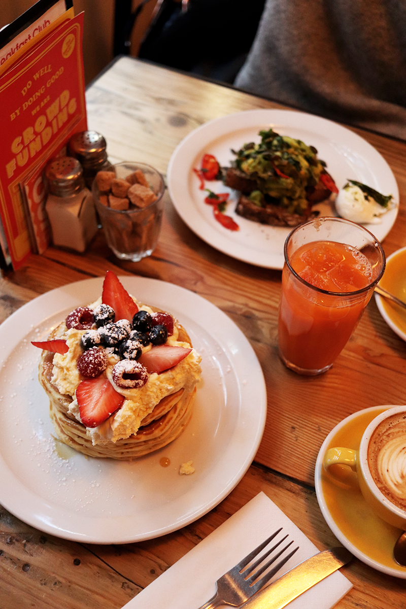 3 Cafes To Have Breakfast In London