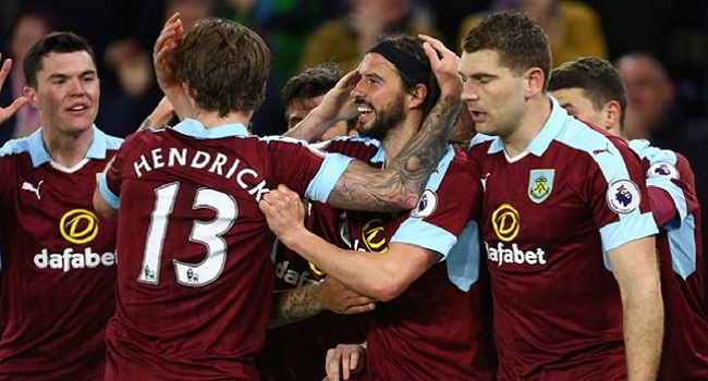 cuplikan gol burnley vs stoke city 1-0