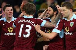 Cuplikan Gol Burnley vs Stoke City 1-0