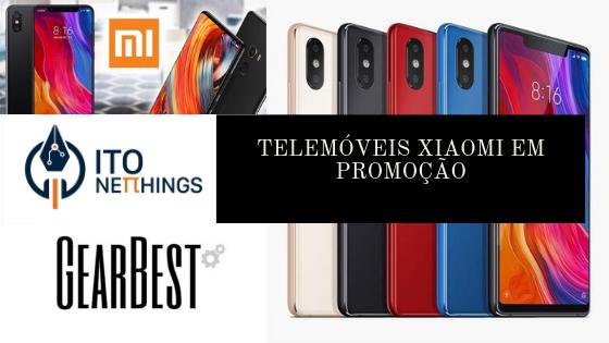 Smartphones Xiaomi Promoção Gearbest