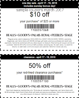 Bealls coupons march 2017
