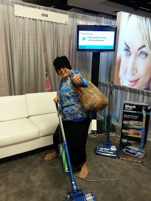 Bohemian Babushka at #Blogher15  Shark Vacuum Cleaner