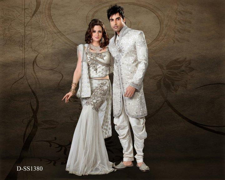 Groom & Bridal Wear Dresses Collection 2012 ~ The Fashion Maza