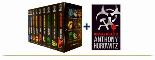 Alex Rider Book Series for Tweens and Teens  |  www.9CoolThings.com