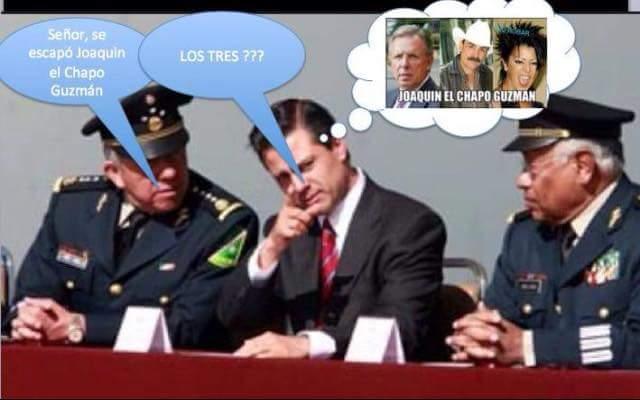 La Politica Me Da Risa Memes De La Fuga Del Chapo Guzmán