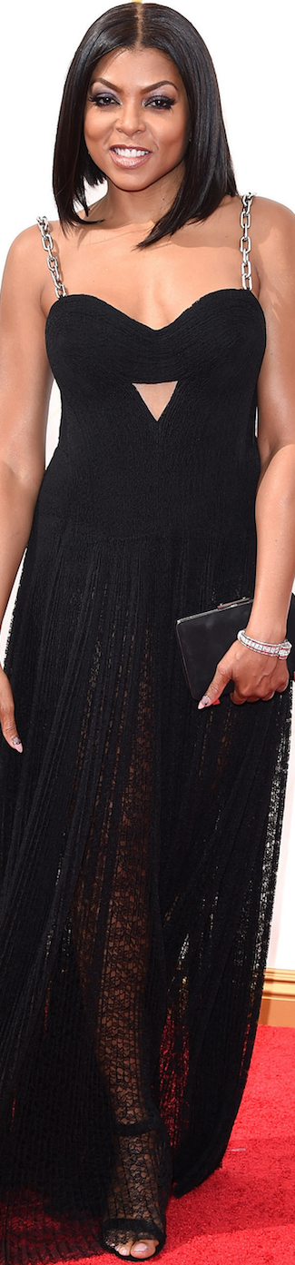 Taraji P. Hensen in Alexander Wang 2015 Emmy Awards