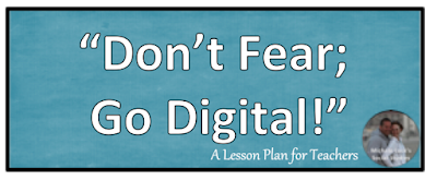 My biggest fears of going digital in the secondary classroom