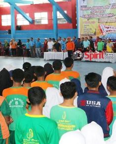 Bupati Resmi Membuka Festival Pelajar Cup I