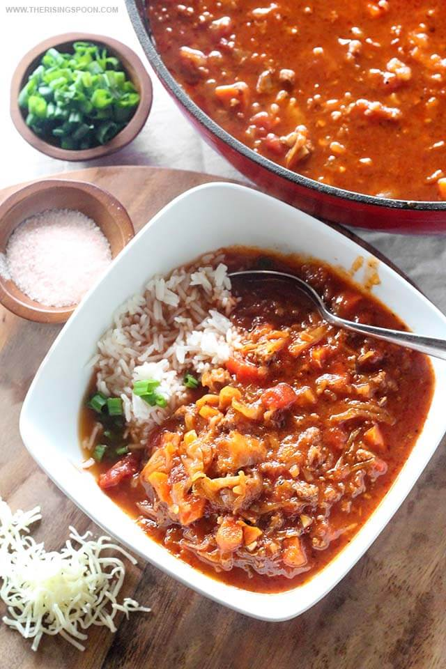 Top 10 Most Popular Recipes On The Rising Spoon in 2018: Cabbage Roll Soup