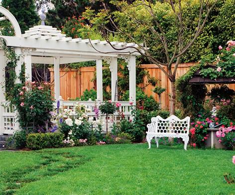 sân vườn hợp phong thủy