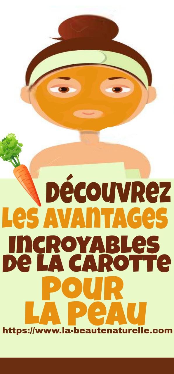 Découvrez les avantages incroyables de la carotte pour la peau