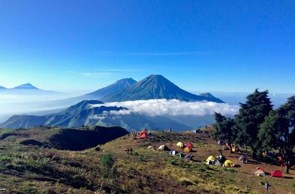 Tujuan Wisata Alam Pegunungan di Jawa Tengah dan Yogyakarta Paling Favorit