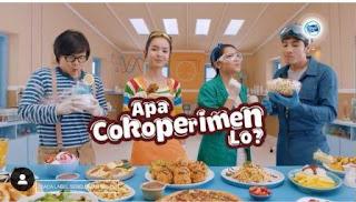 Nama Bintang Pemeran Iklan Susu Frisian Flag Coklat - Cokoperimen