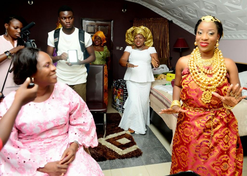OUR YORUBA TRADITIONAL WEDDING PHOTOS + VIDEO - SISI & BOBO ...