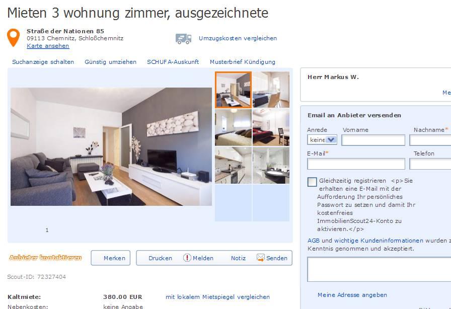 Wohnung Aachen Mieten  Zimmer