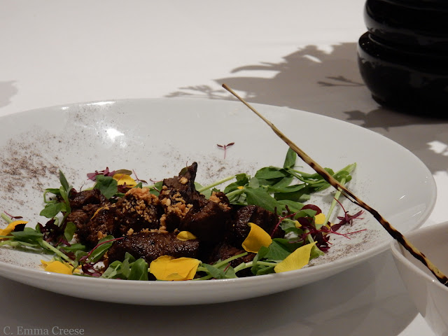 Blogger restaurant review House of Ho Vietnamese cuisine in Fitzrovia.