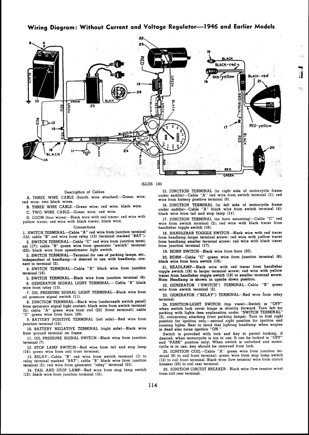 wl wiring diagram simple wiring diagram 1941 harley davidson wl restoration re wiring the harley davidson wl wiring circuits wl wiring diagram