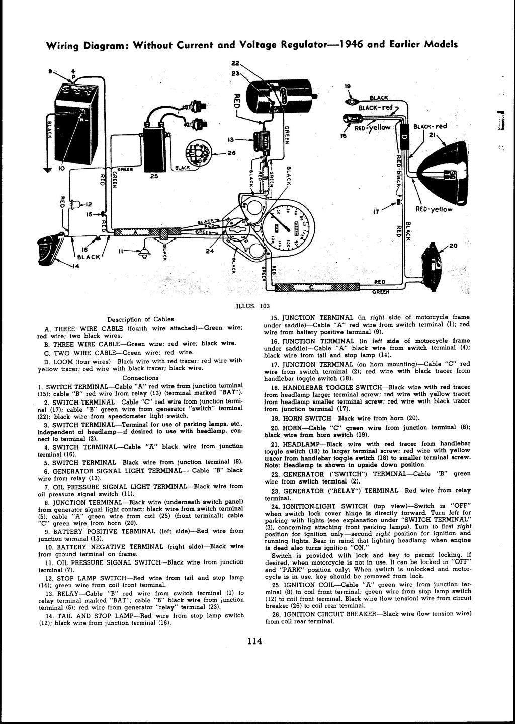 1941 harley davidson wl restoration re wiring the harley basic harley wiring diagram basic harley wiring diagram [ 1024 x 1439 Pixel ]