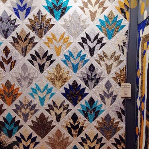 Cleopatra's Fan Quilt Free Pattern