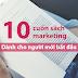 10 cuốn sách marketing dành cho người mới bắt đầu