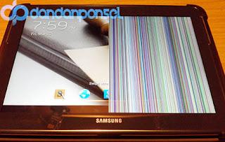 Cara Mengatasi LCD Layar Sentuh Android Muncul Garis Pelangi