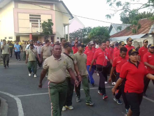 Jalan Santai Jelang HUT ke 19 Kabupaten Maluku Tenggara Barat
