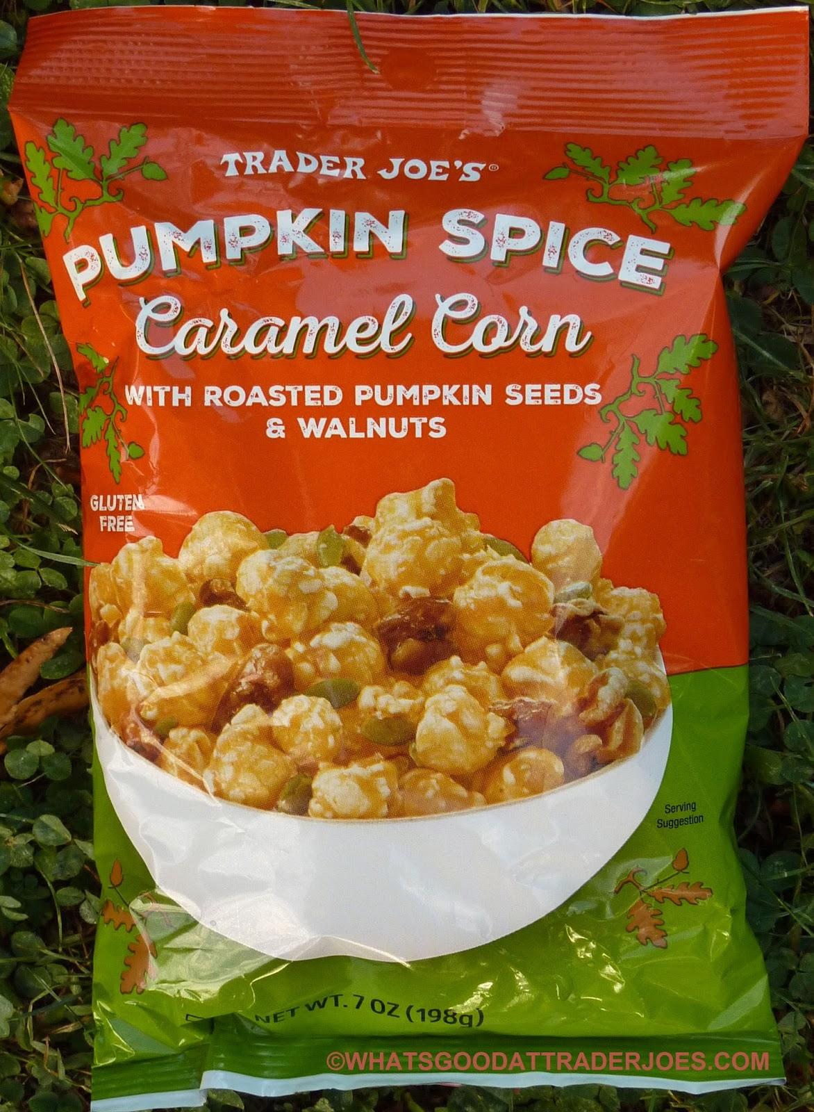 What\'s Good at Trader Joe\'s?: Trader Joe\'s Pumpkin Spice Caramel Corn