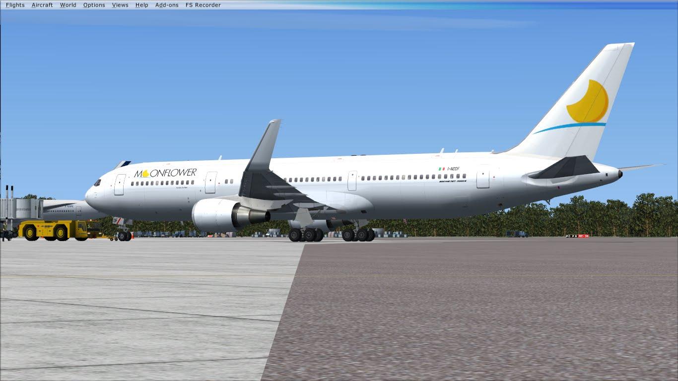FlyRepaints : Skyspirit- Boeing 767-300ER NEOS