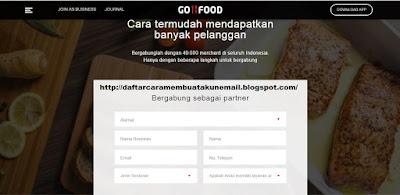 daftar makanan go food