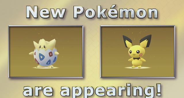 Pokémon GO recebe monstrinhos de Johto