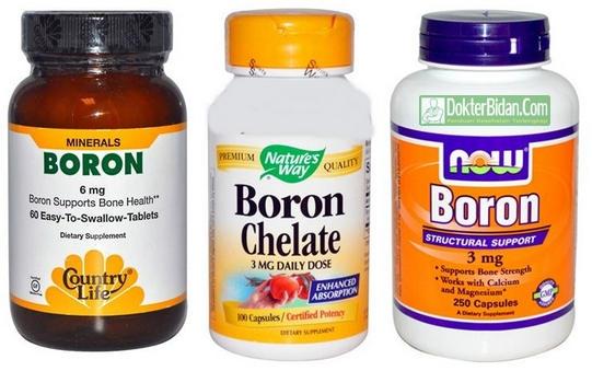 Suplemen Boron Chelate - Fungsi Mineral Vitamin, Dosis Dan Efek Sampingnya Bagi Kebugaran Badan