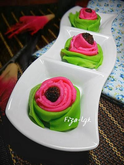 Dadar Gulung Mawar : dadar, gulung, mawar, DADAR, GULUNG, MAWAR, Fiza's, Cooking
