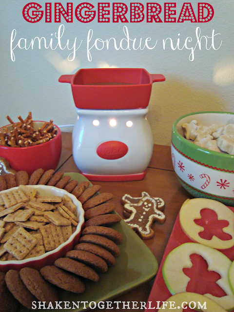 gingerbread fondue night