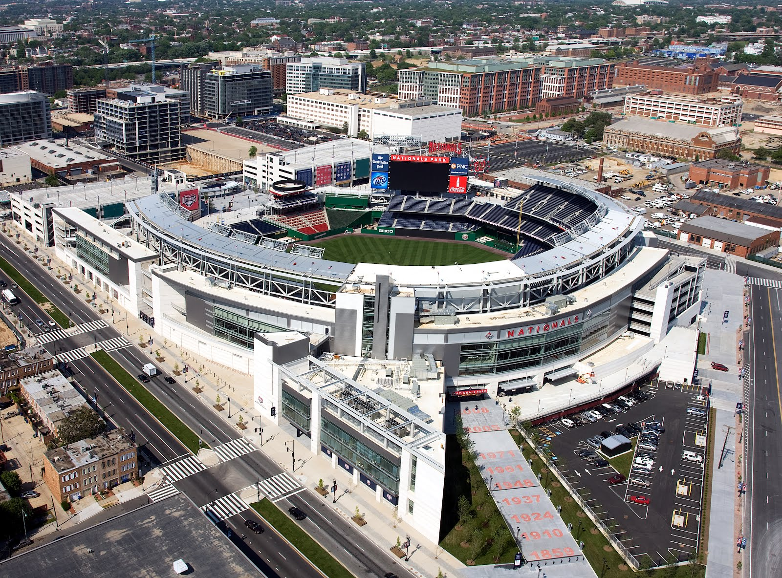Washington Nationals Stadium Ballpark, Washington, D.C.