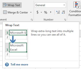 Gambar Wrap Text