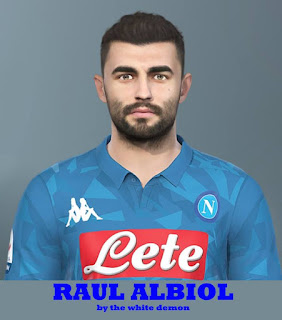 PES 2019 Faces Raul Albiol by The White Demon