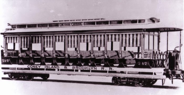 the introduction of electric trolleys