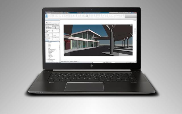 Review dan Spesifikasi Laptop HP seri Zbook Studio G4