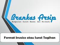 Contoh Format Invoice atau Surat Tagihan