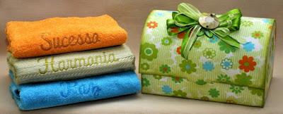 Kit toalhas