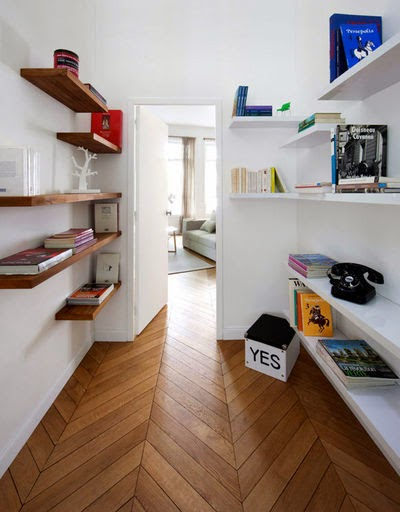 amenagement couloir rangement. Black Bedroom Furniture Sets. Home Design Ideas