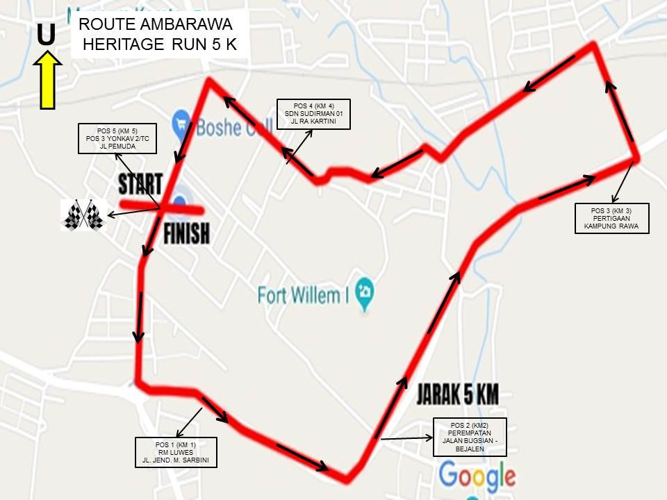 5K 👟 Ambarawa Heritage Run • 2018