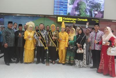 Kedatangan Kakanwil Kemenag DKI Jakarta Disambut Dengan Nuansa Melayu