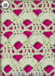 Patron #811: Punto Calado a Crochet
