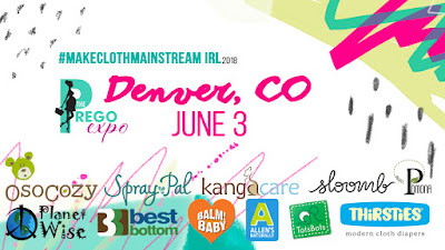 Spray Pal will #MakeClothMainstream at The Prego Expo Denver 6/3
