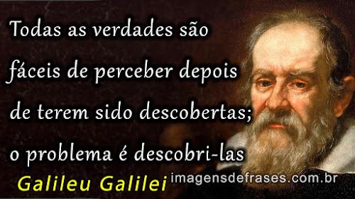 Frases de Galileu Galilei
