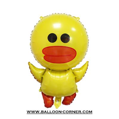 Balon Foil Karakter LINE (Sally)