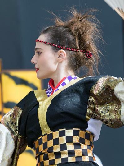 ベネの福岡!、外国人踊り子、ふくこいアジア祭り2017