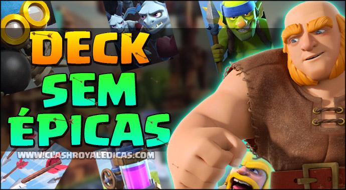 Dica de Deck para Arena 6 SEM CARTAS ÉPICAS!