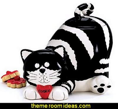 Chester The Cat Kitty Cookie Jar Food Container